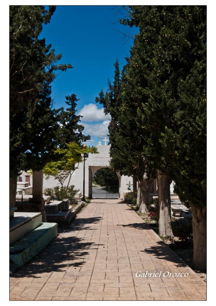 Calle principal del panteon